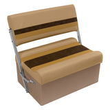 Wise 8WD125FF-1010 Deluxe Pontoon Series Flip Flop / Swingback Bench Seat - Aftermarket Pontoon Furniture