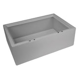 Wise 8WD125FF-1B-221 Deluxe Series Pontoon Flip Flop Bench Base Only - Aftermarket Pontoon Furniture