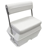 Wise 8WD159-784 50 Qt Swingback Cooler Seat - Offshore Marine