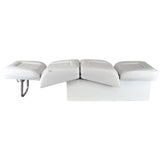 Wise 8WD505P-1 Deluxe Series Contoured Lounge Seat - Reclined Side View