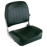 Wise 8WD734PLS-713 Low Back Boat Seat - Green