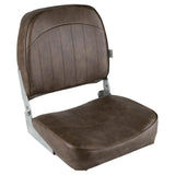 Wise 8WD734PLS-716 Low Back Boat Seat - Brown