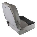Wise 8WD734PLS Low Back Boat Seat - Rear View