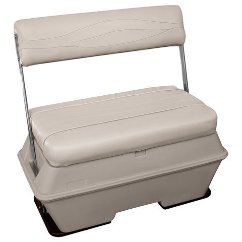 Wise BM11005-990 Premier Pontoon 70 Qt Swingback Cooler - Aftermarket Pontoon Furniture