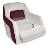 Wise BM11010-989 Traditional Style Bucket Seat - Premier Pontoon