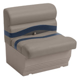 "Wise BM1143-1730 Premier Pontoon 27"" Bench - Aftermarket Pontoon Furniture"
