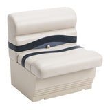 "Wise BM1143-986 Premier Pontoon 27"" Bench - Aftermarket Pontoon Furniture"