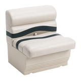 "Wise BM1143-988 Premier Pontoon 27"" Bench - Aftermarket Pontoon Furniture"