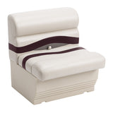 "Wise BM1143-989 Premier Pontoon 27"" Bench - Aftermarket Pontoon Furniture"