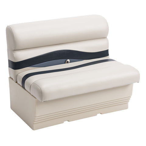 "Wise BM1144-986 Premier Pontoon 36"" Bench - Aftermarket Pontoon Furniture"