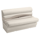 "Wise BM1145-1066 Premier Pontoon 50"" Bench - Aftermarket Pontoon Furniture"