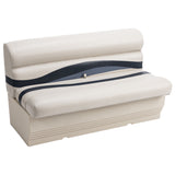 "Wise BM1145-986 Premier Pontoon 50"" Bench - Aftermarket Pontoon Furniture"