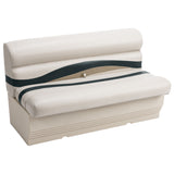 "Wise BM1145-988 Premier Pontoon 50"" Bench - Aftermarket Pontoon Furniture"