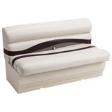 "Wise BM1145-989 Premier Pontoon 50"" Bench - Aftermarket Pontoon Furniture"