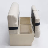 Wise BM1145 Premier Pontoon Side Open View - Aftermarket Pontoon Furniture