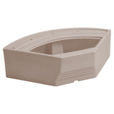 "Wise BM1146-1B-1725 Premier Aftermarket Pontoon 32"" Radius Corner Base"