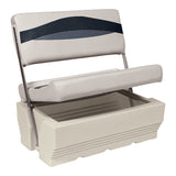 Wise BM1152 Open View Premier Flip Flop / Swingback Cooler - Aftermarket Pontoon Furniture