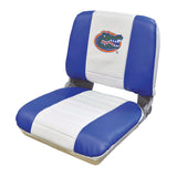 Wise U WD135U-FLA Collegiate Series Pro Style Fishing Boat Seat - Florida Gators - NCAA Logo