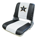 Wise U WD135U-VAN Collegiate Series Pro Style Fishing Boat Seat - Vanderbilt Commodores - NCAA Logo