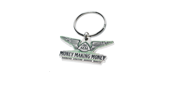 Money Making Money Keychain
