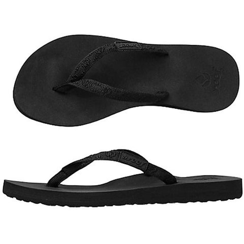 Reef Womens Ginger Sandals in 8.womens:black/black