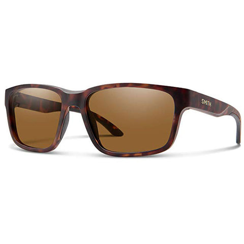 Smith Basecamp Sunglasses in matte tortoise:polarized brown