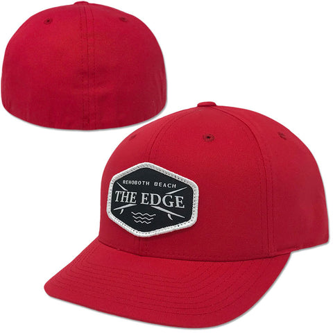 Edge Crossboards Hats in One Size:red