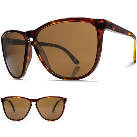 Electric Encelia Sunglasses in tortoise:ohm bronze