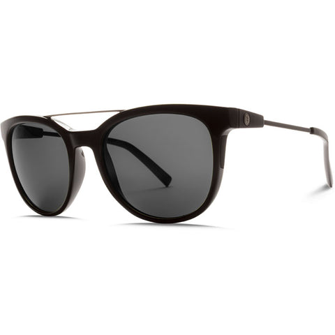 Electric Bengal Wire Sunglasses in gloss black:grey