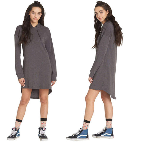 Element Womens Tonight Dresses in Small:Charcoal