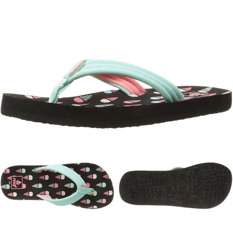 Reef kids Little Ahi Sandals in 5/6.kids:ice cream