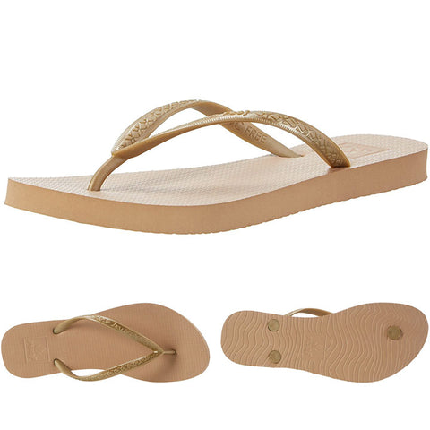 Reef Womens Escape Sandals in 6.womens:gold