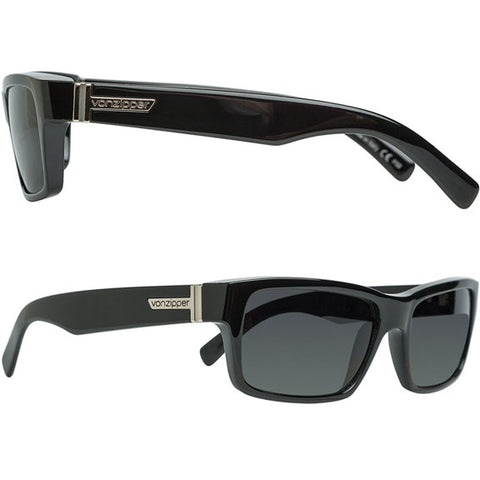 Von Zipper Fulton Sunglasses in black gloss:grey