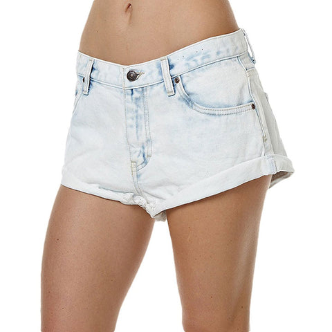 Rusty Womens Get Cuffed Shorts