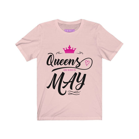 Image of Queens are Born in May T-Shirt