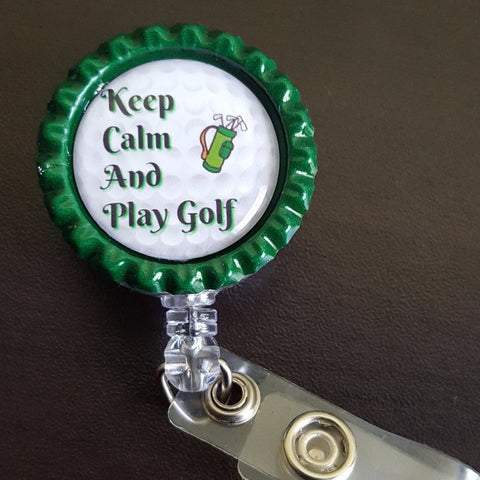 Golf Themed Badges