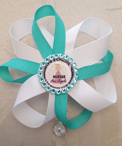 Nurse Loopy Flower Badge