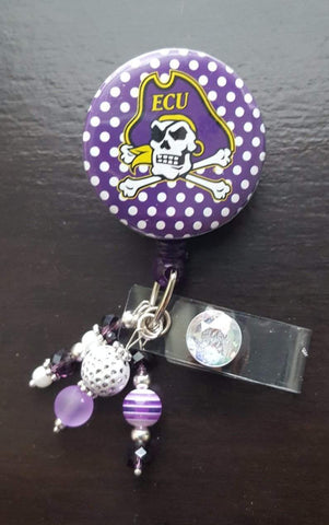 Image of Polka-Dot Pirate Button Badge