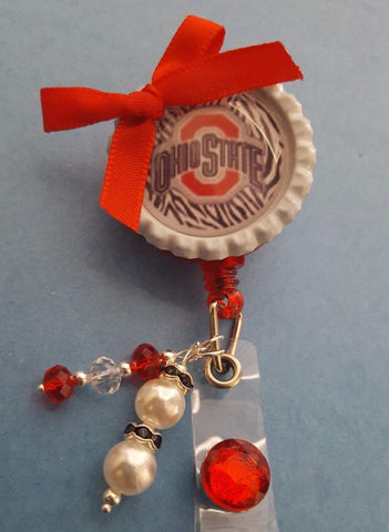 Ohio State Bottle Cap Badge