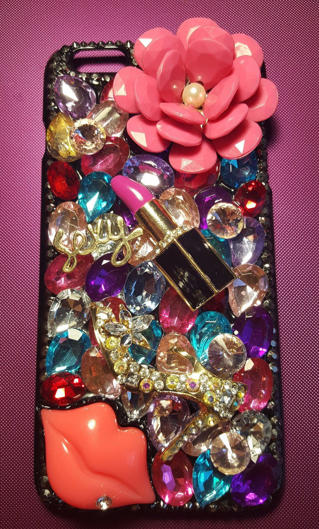 Bedazzled Diva iPhone 6 Plus and 6S Plus Case - Get Me Bedazzled 77b51efa25