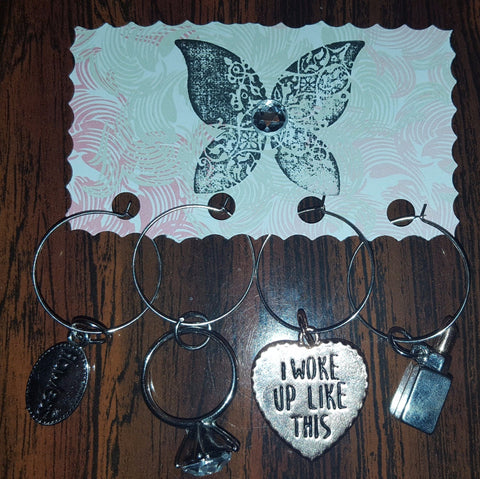 Image of Diva Wine Charm Set