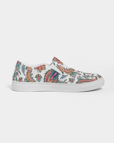 Colorful Paisley Slip On Shoe