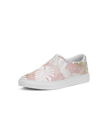 Image of Tropical Floral Pastel Slip On Shoe
