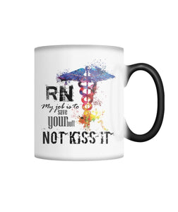 Color Changing Mug- RN My Job is .....