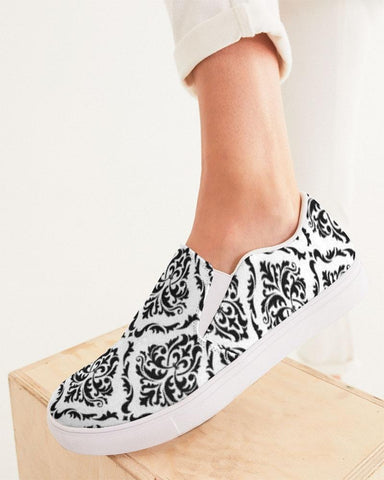 Image of Damask Slip On Shoe