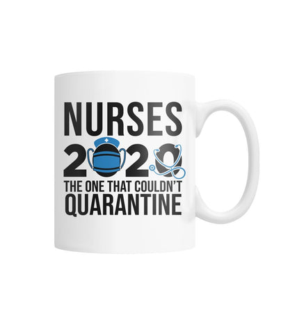 Nurses 2020 White Coffee Mug