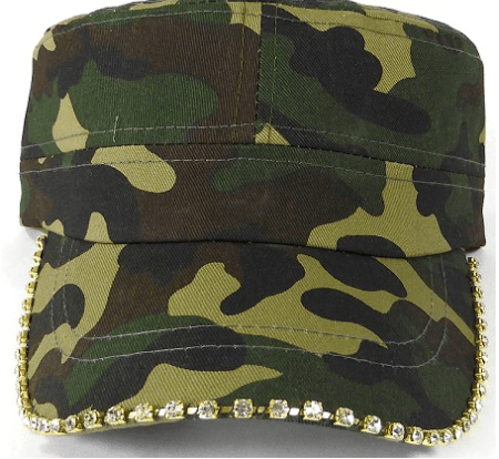 Image of Camo Bling Cadet Cap