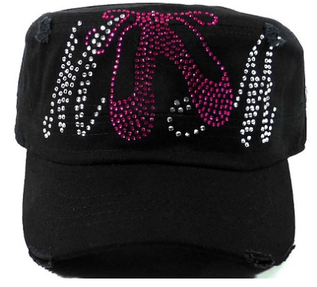 Bling Ballet Dance Mom Cadet Cap