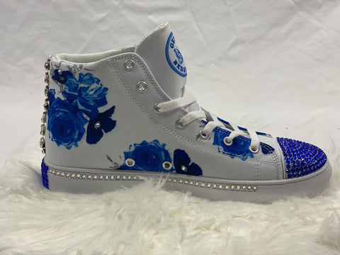 "GMB Bedazzled Bride ""Something Blue"" High Top Shoe"