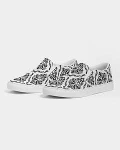 Damask Slip On Shoe